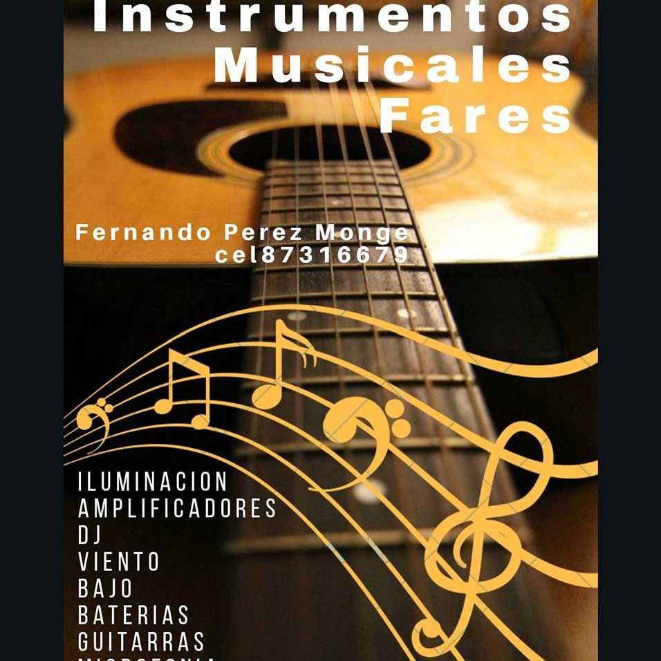 Instrumentos Musicales Fares